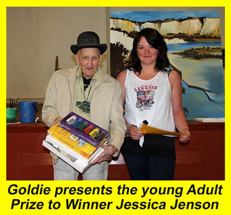 Next up was the official opening of the Adult exhibition at the Yellow ...
